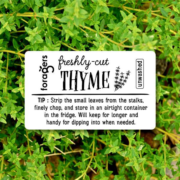 Thyme (freshly cut)
