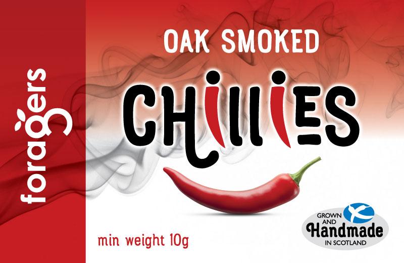 Oak Smoked Chillies