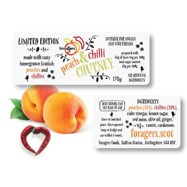 Peach & Chilli Chutney