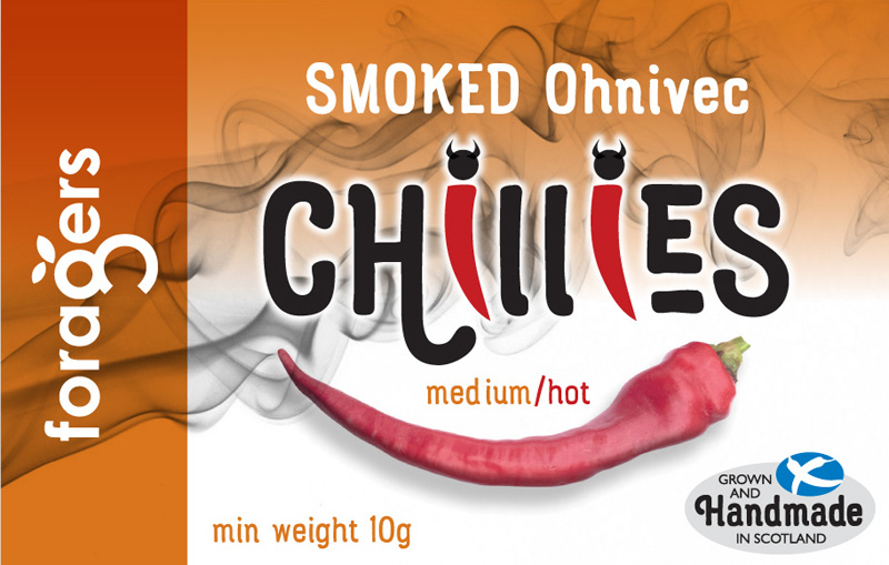 Smoked Ohnivec Chillies